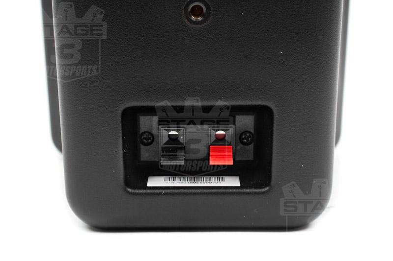 KICKER Full Range Indoor Outdoor Speakers Black 11KB6000