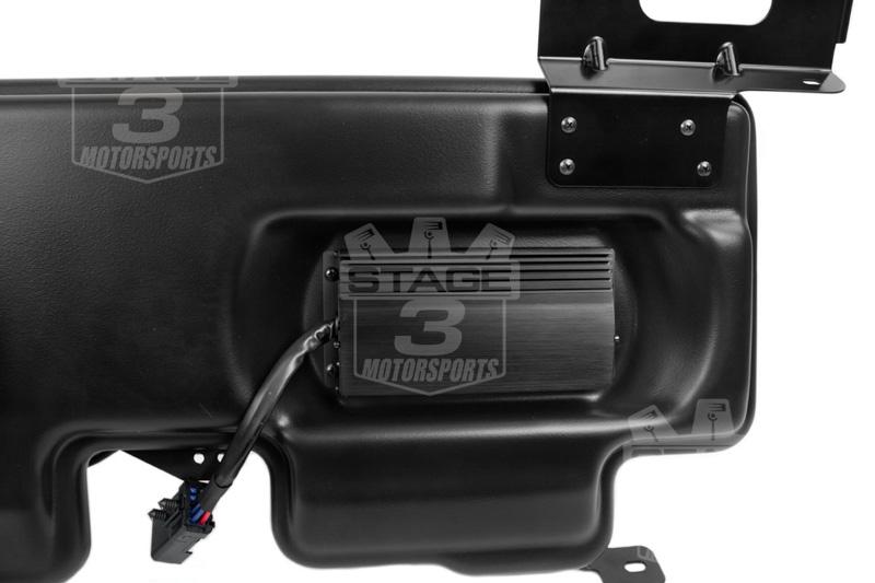 super duty kicker vss substage powered subwoofer kit sfsc