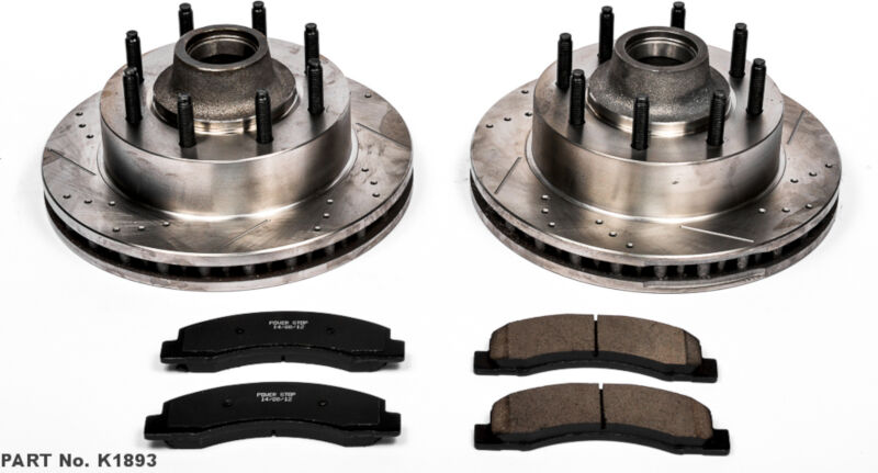 1999-2002 Ford F250 & F350 2wd Super Duty Power Stop Complete Brake Kit K1894