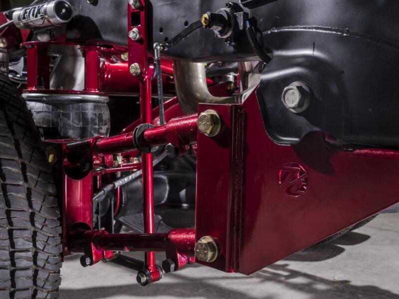 2017 2018 F450 4x4 Kelderman 5 6 Quot Rear Air Suspension