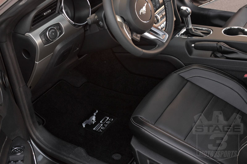 2015 mustang gt 5 0l 50th anniversary edition with lloyd floor mats