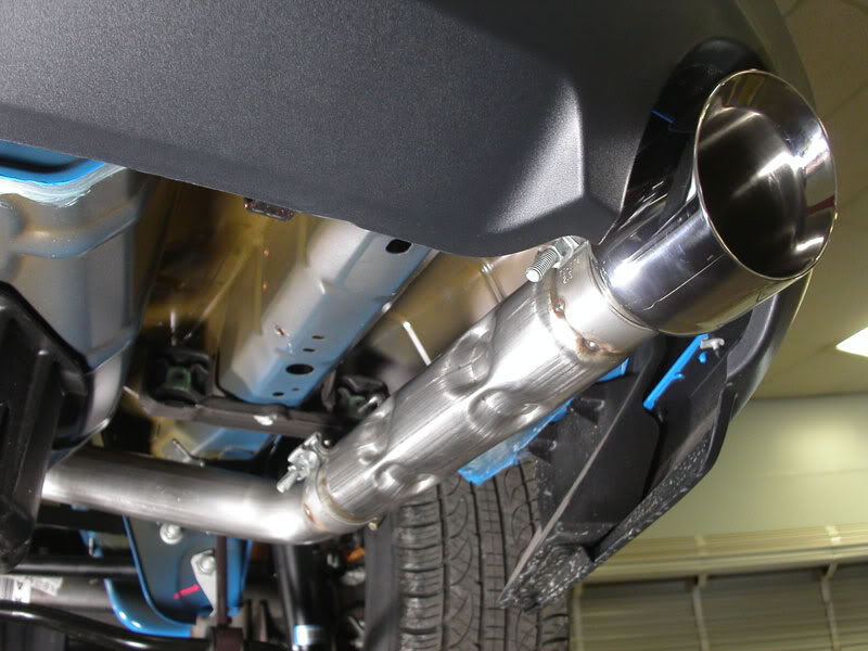 Stainless Works   In Retro Chambered Dual Cat Back Exhaust
