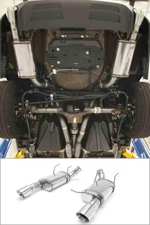2013 2014 Mustang Gt 5 0l Magnaflow Axle Back Exhaust