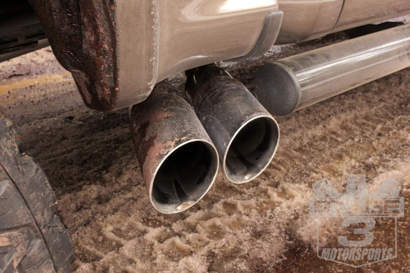 Tire Price Match >> 2015-2018 F150 Magnaflow Pre-Tire Twin-Side Exit Cat-Back Exhaust Kit 19054