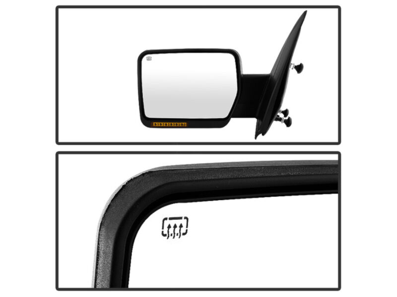 2007 2014 F150 Oe Style Replacement Mirrors With Amber