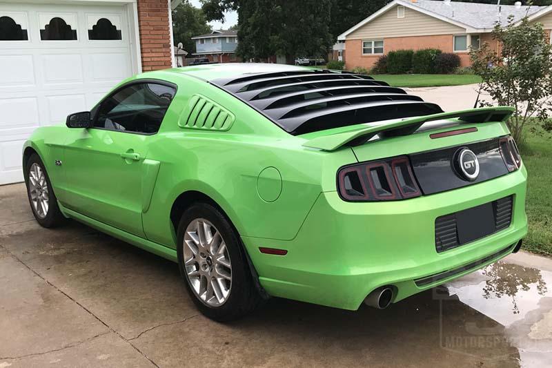 2005 2014 Mustang Mrt Rear Window Louver 12a044