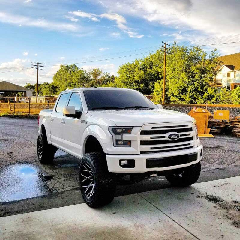Truck Platinum: Customer Spotlight: Mike's 2016 F150 Platinum Build