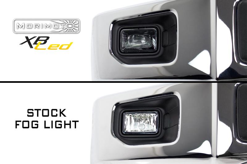 2017 2018 f250 f350 morimoto xb led replacement projector fog lights 50373 f250