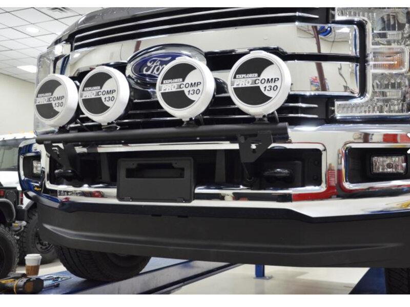 F250 Bumper Light Bar Mount F250 Free Engine Image For