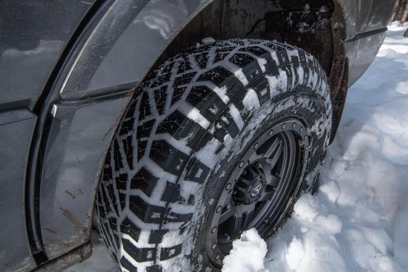 Best Tires For F150 >> LT295/70R18 E Nitto Ridge Grappler M/T-A/T Hybrid Radial Tire 217-120