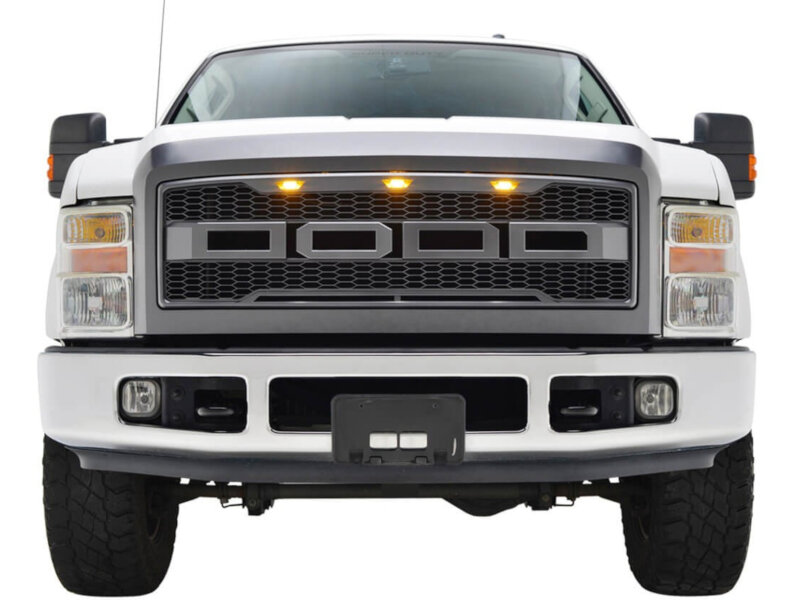 2008 2010 F250 Amp F350 Raptor Style Bolt On Grille Pa 41 0161