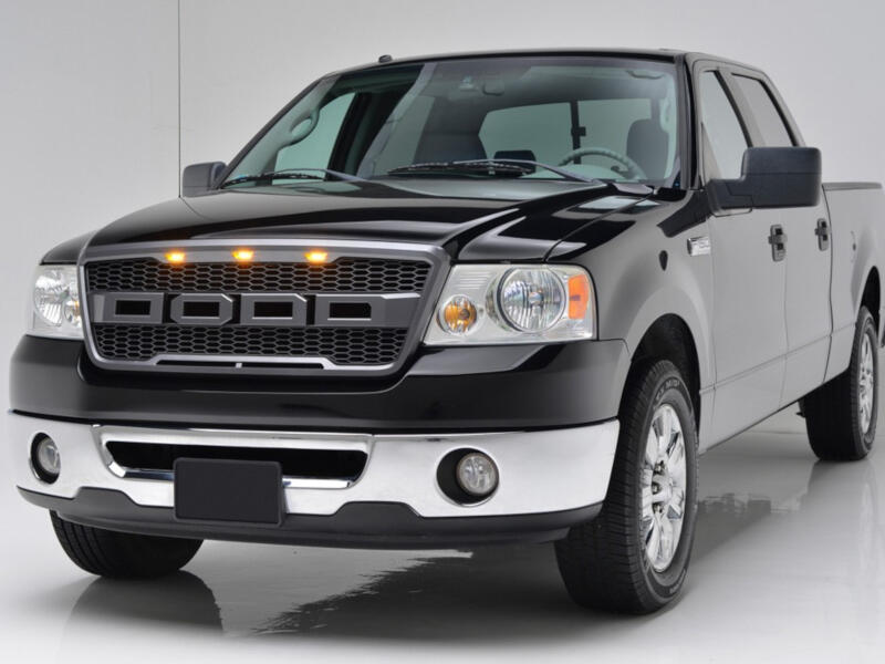 2004 Ford F150 Lariat >> 2004-2008 F150 Packaged Raptor-Style Upper Grille 41-0159