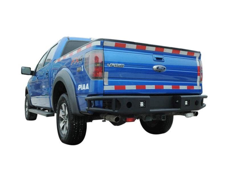 05 F150 Bumper >> 2009-2014 F150 Tubular Steel Rear Bumper with LED Mounts ...