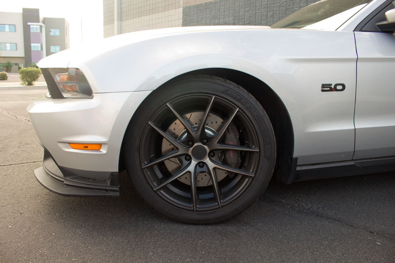 2011 2014 mustang gt with brembos power stop z26 street warrior front and rear brake