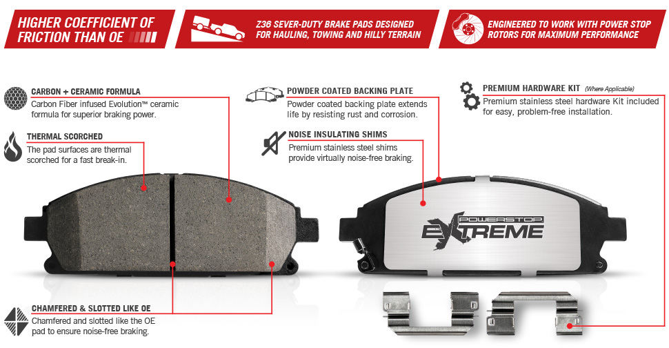 2012 2014 F150 Amp Raptor Power Stop Extreme Truck Amp Tow