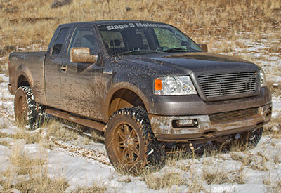 Stage 3's 2005 F150 5.4L XLT 4WD SuperCab Project Truck