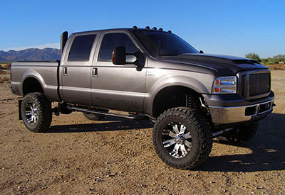 Stage 3's 2006 F350 6.0L Stacks Project Truck