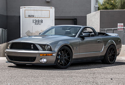 Stage 3's 2008 Shelby GT500 5.4L Convertible Project Car