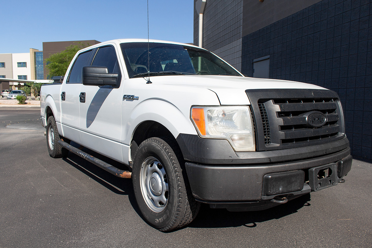 Stage 3's 2011 F150 5.0L XL Project Workhorse Build