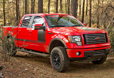 Stage 3's 2012 F150 5.0L FX4 Project Truck