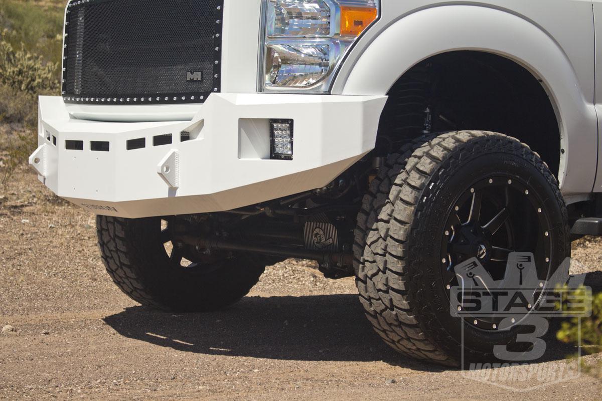 Super duty fusion front bumper