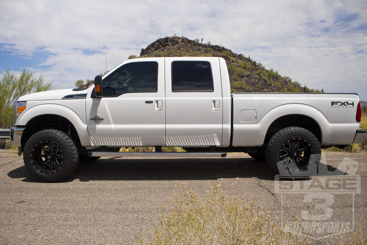 Check out our 2014 super duty s stance with icon s 2 5 lift kit installed