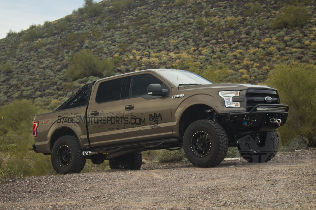 2015-2016 F150 4WD BDS 4-Inch Coilover Suspension Lift Kit