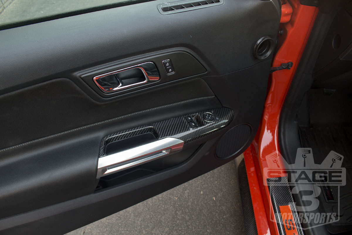 2015 mustang carbon fiber parts installed on our ecoboost - 2013 mustang interior accessories ...