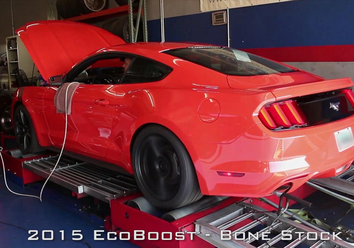 2015 Mustang Ecoboost Dynos Stock Vs Cobb Accessport Ots
