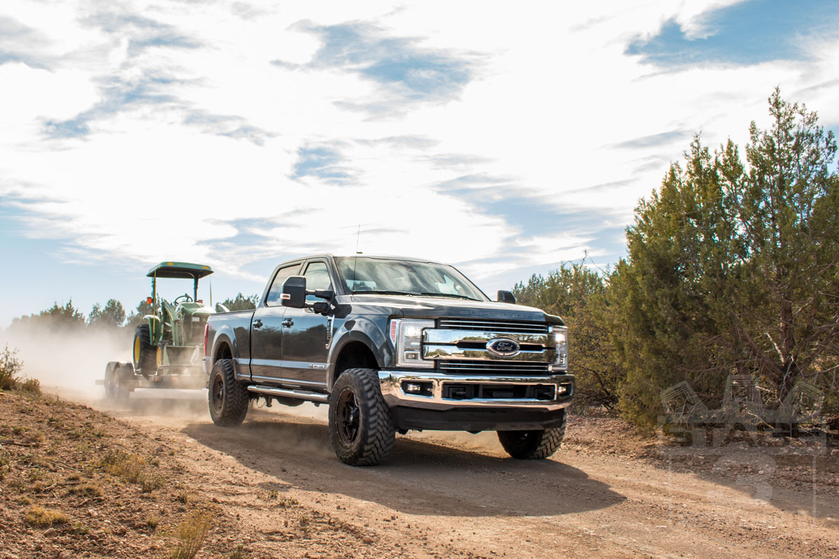 """Stage 3's 2017 Project Truck with 20x10"""" Fuel Mavericks ..."""