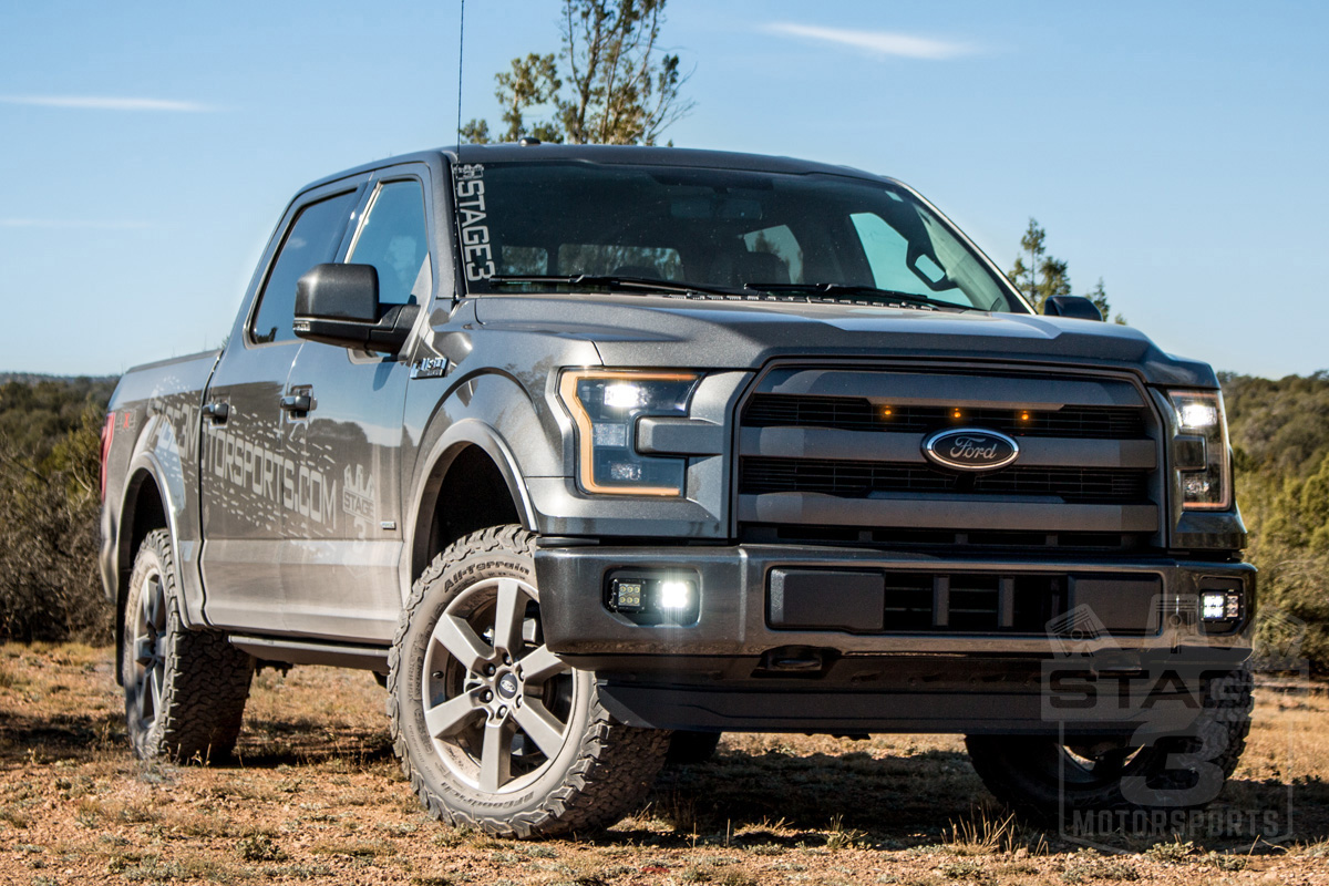 Stage 3 s 2015 f150 2 7l eco project truck build