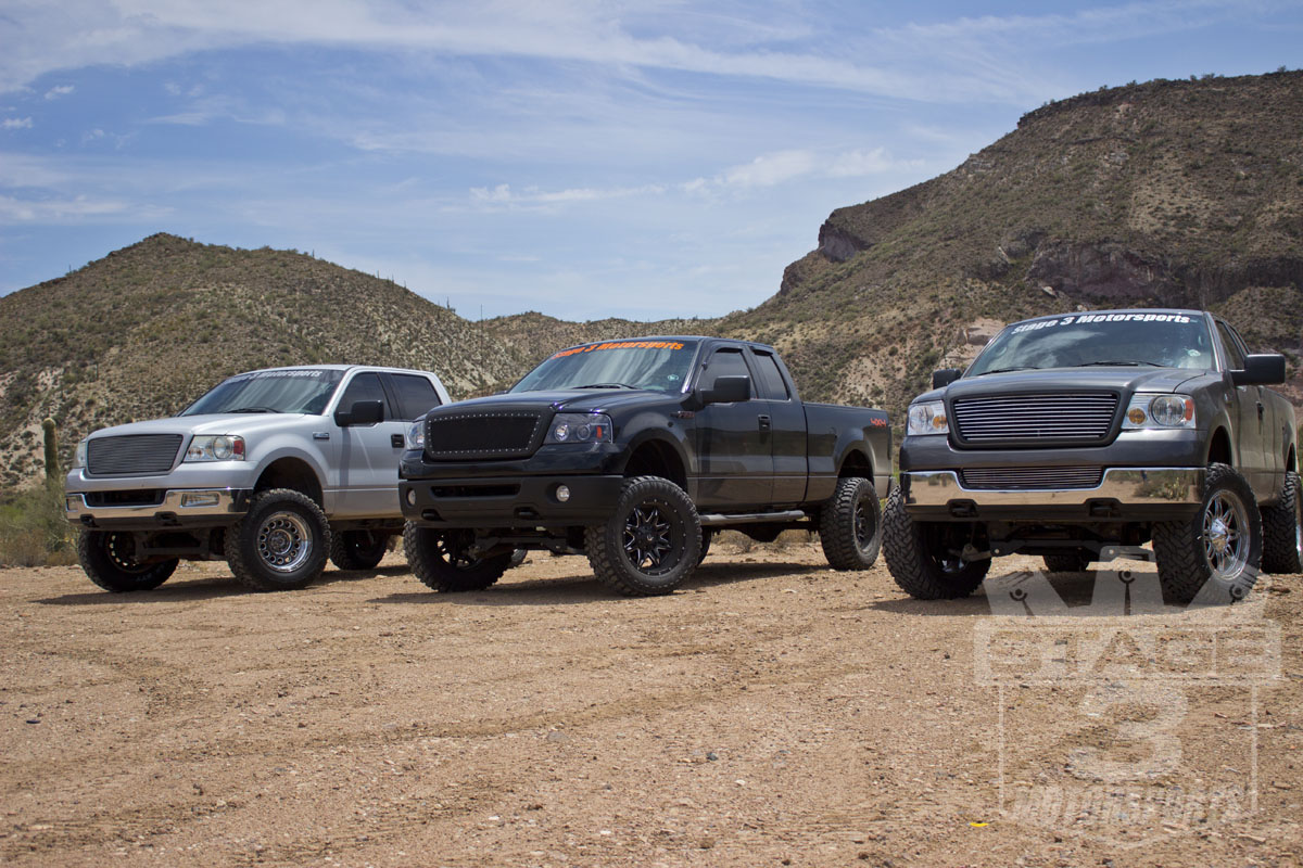 Stage 3's Lifted Project Trucks