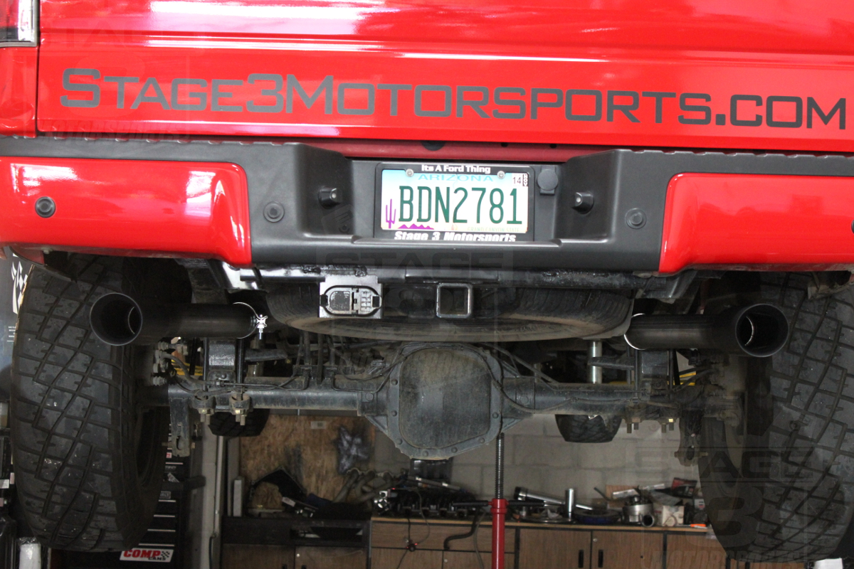 2014 Ford F150 Accessories >> 2009-2014 F150 V8 Flowmaster Outlaw Cat-Back Exhaust Kit ...