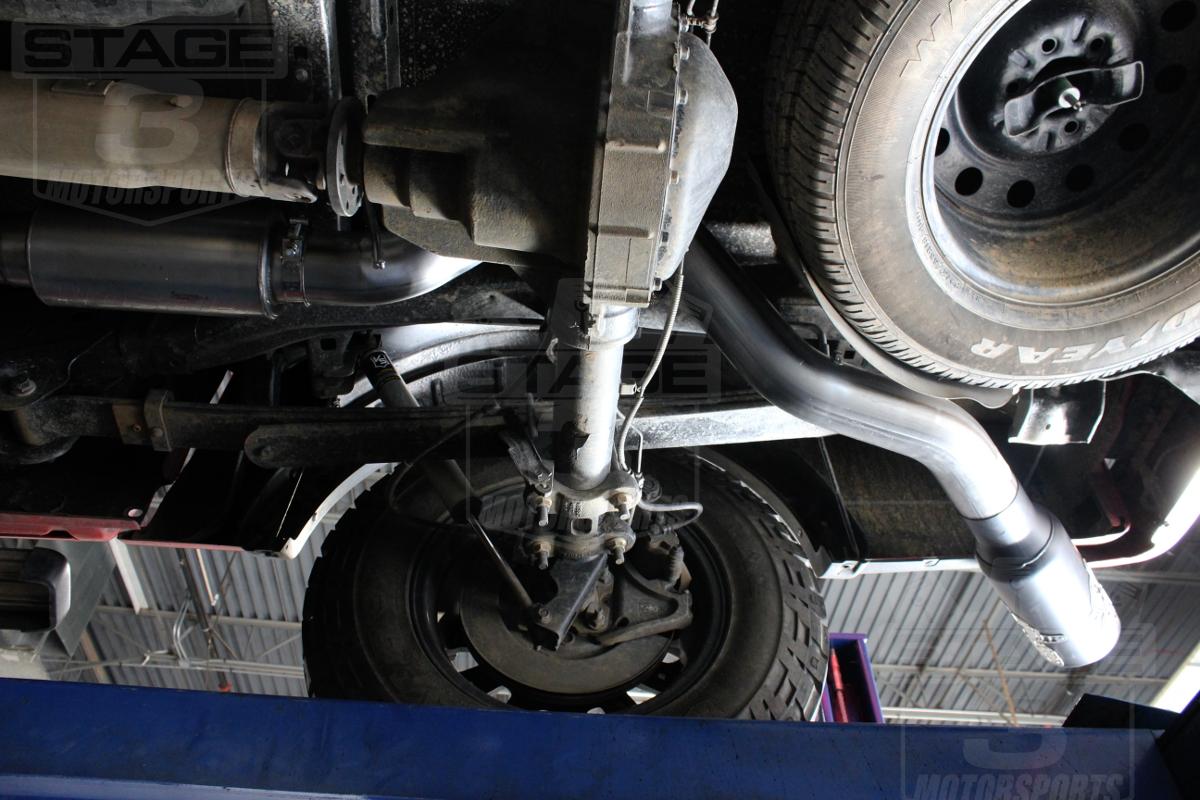 2011 2014 f150 3 7l 5 0l gibson 4 metal mulisha cat back exhaust kit 60 0008
