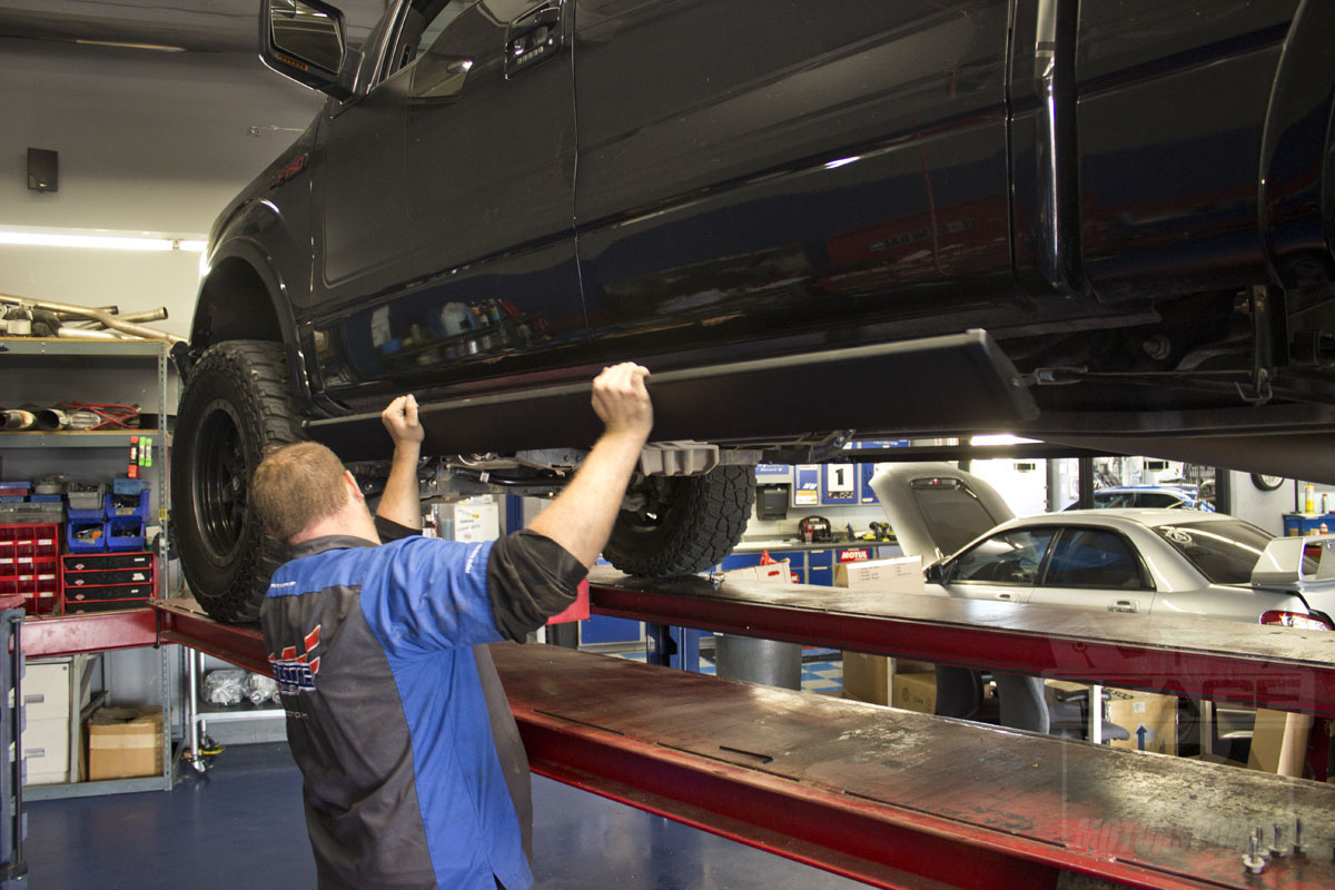 Install Guide Amp Research Power Steps On Our 2012 F150