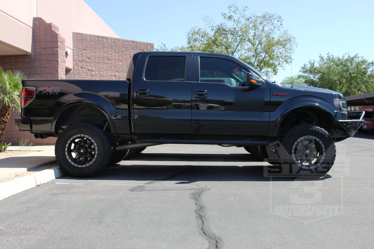 """Ford F150 Discounts 2009-2013 F150 & 2014 F150 8"""" Lift Kit Now Available from Stage 3!"""
