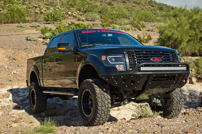 2009-2013 F150 S3M 8-Inch Suspension Lift Package