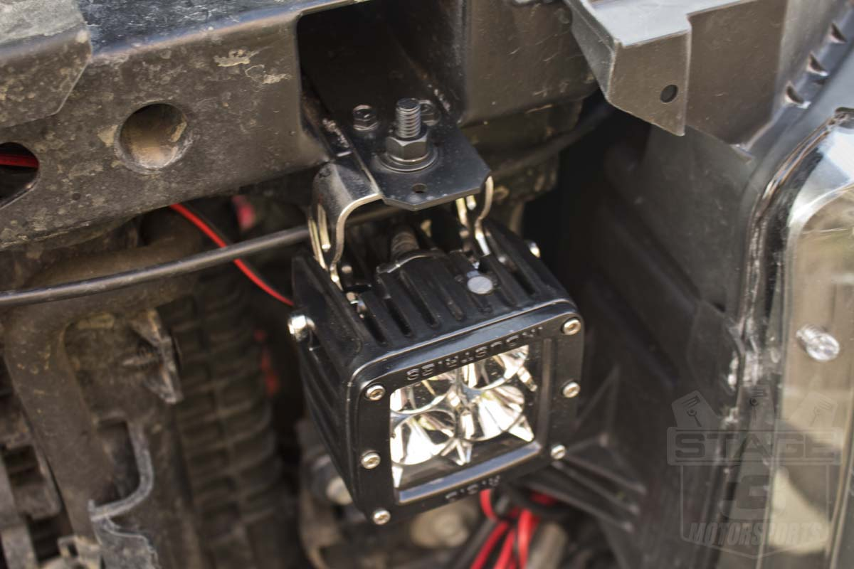 2011 F150 Grill >> Quick How-To: Rigid D-series LED Lights behind the grille ...