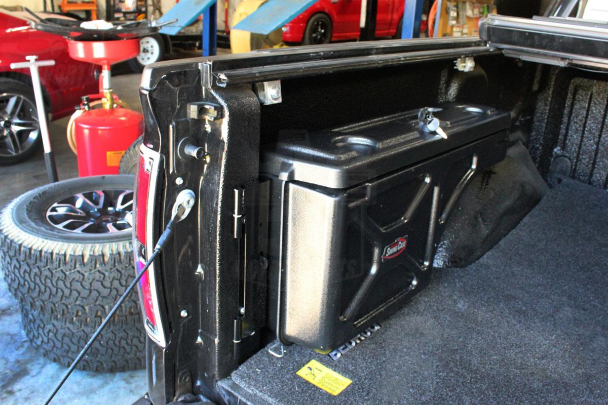 1997 2014 F150 Undercover Swing Case Storage Box Driver Sc201d