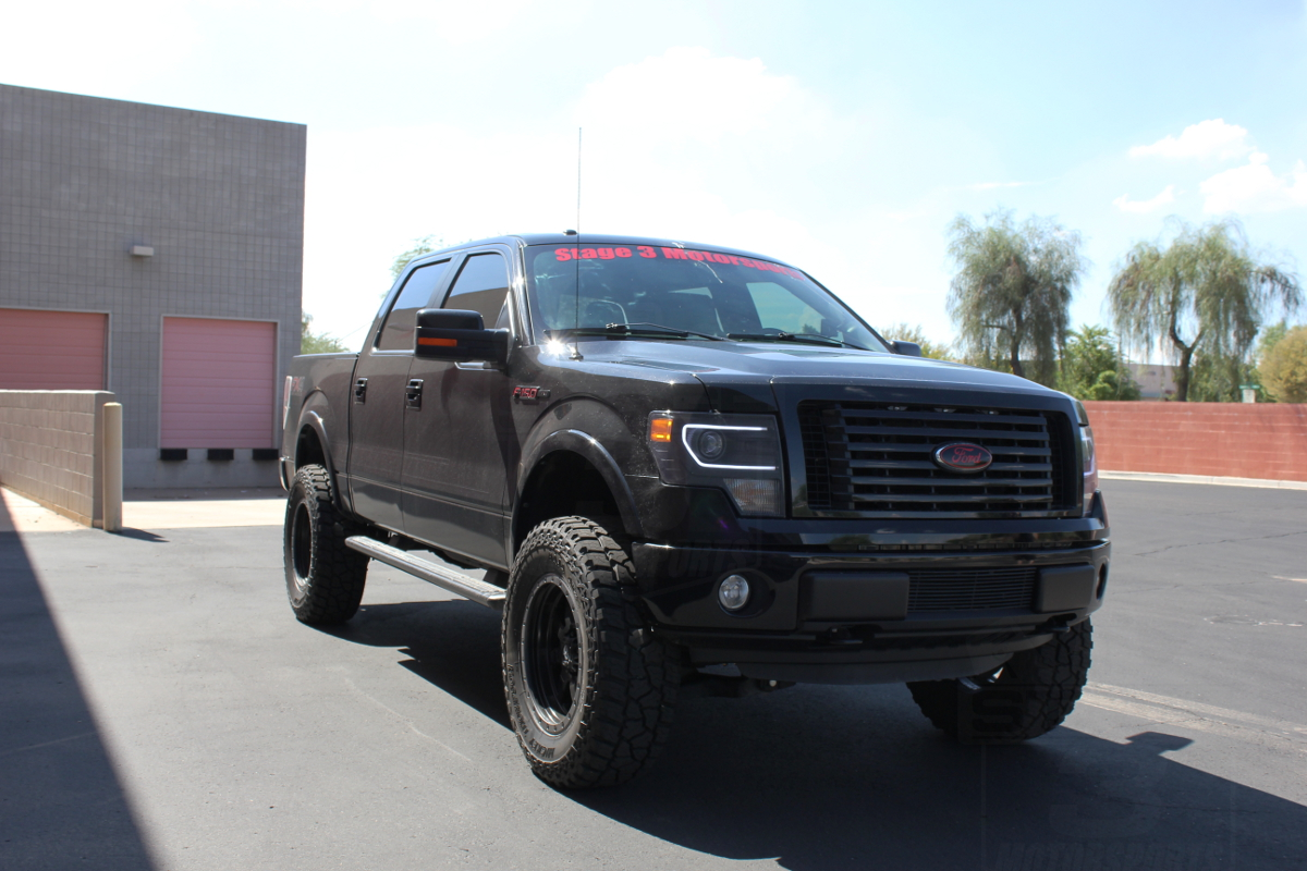 2009 2013 f150 zone 6 lift kit installed on our 2012 f150 ecoboost fx4