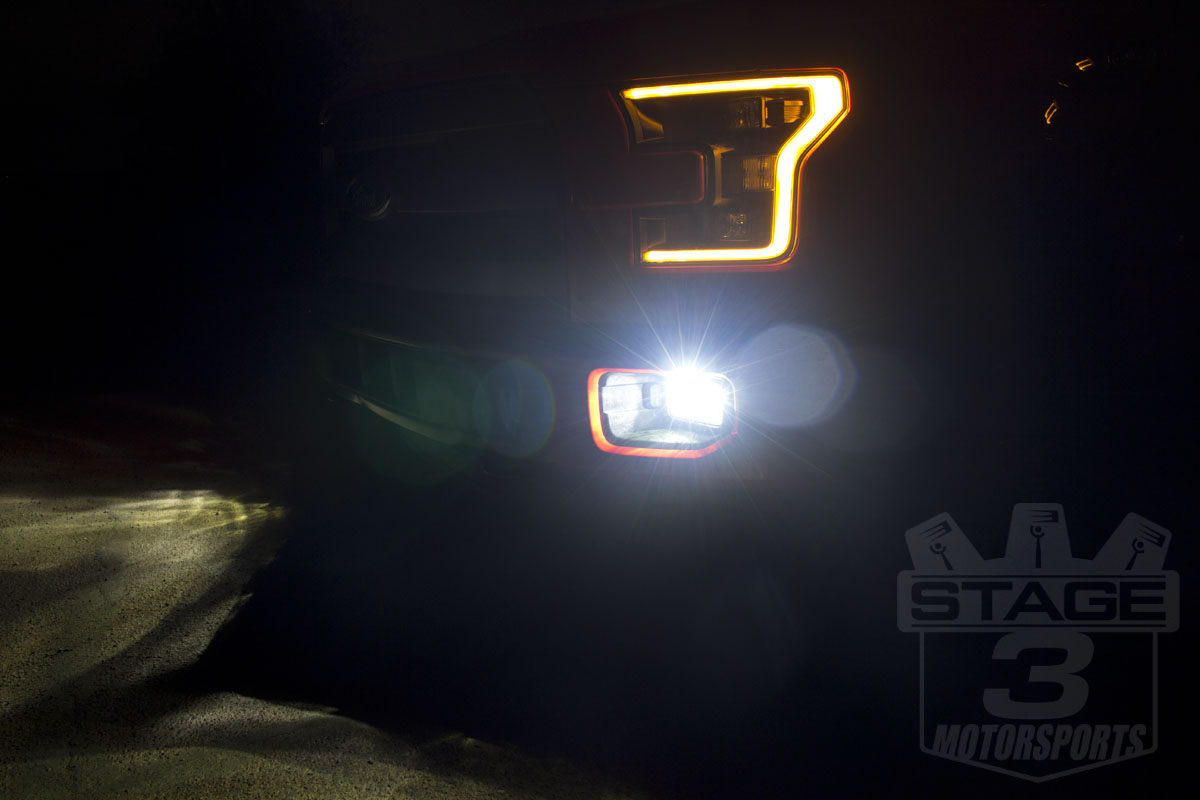 1999 2015 F150 Diode Dynamics Led H10 Fog Lights Installed