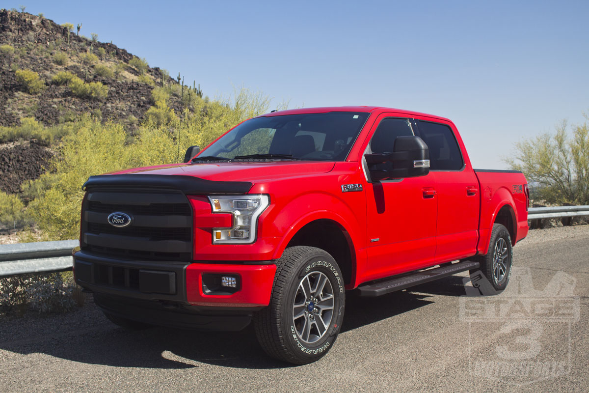 Stage 3's 2015 F150 EcoBoost FX4 Project Truck with 2-Inch Auto Spring Leveling Kit