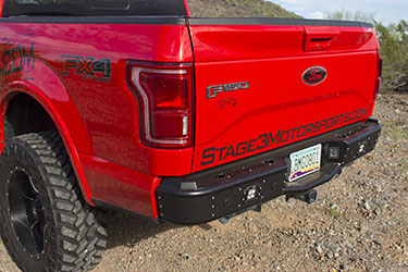 Stage 3's 2015 F150 EcoBoost FX4 Front & Rear Bumpers