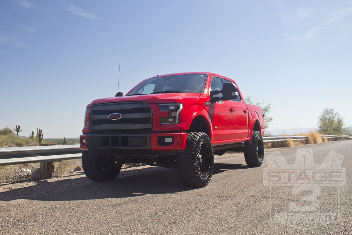 2015 F150 3.5L EcoBoost with Zone 6-Inch Suspension Lift Kit