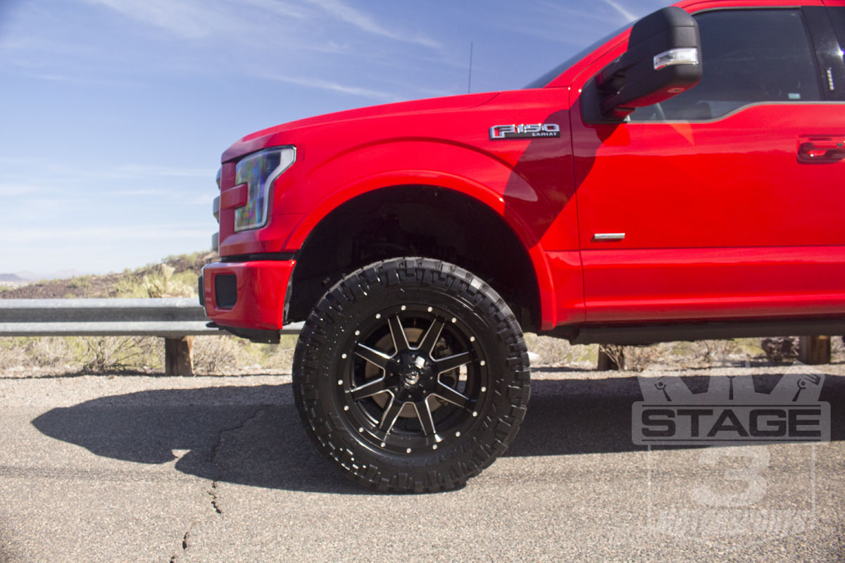 2015 f150 4wd zone 6 quot lift kit installed on our 2015 f150 ecoboost project truck