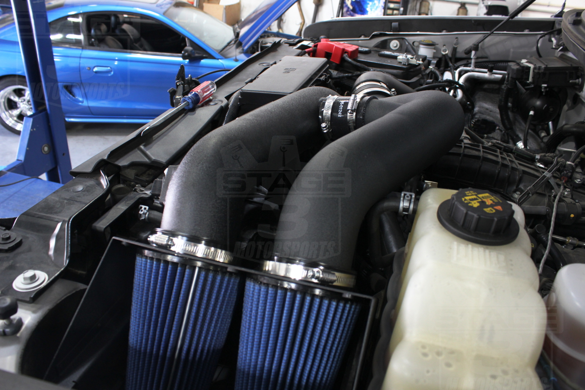 2011 F150 EcoBoost aFe Stage 2 Cold Air Intake Installed
