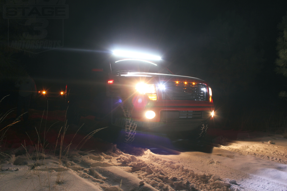 2012 F150 with Rigid Industries Off-Road LED Lights