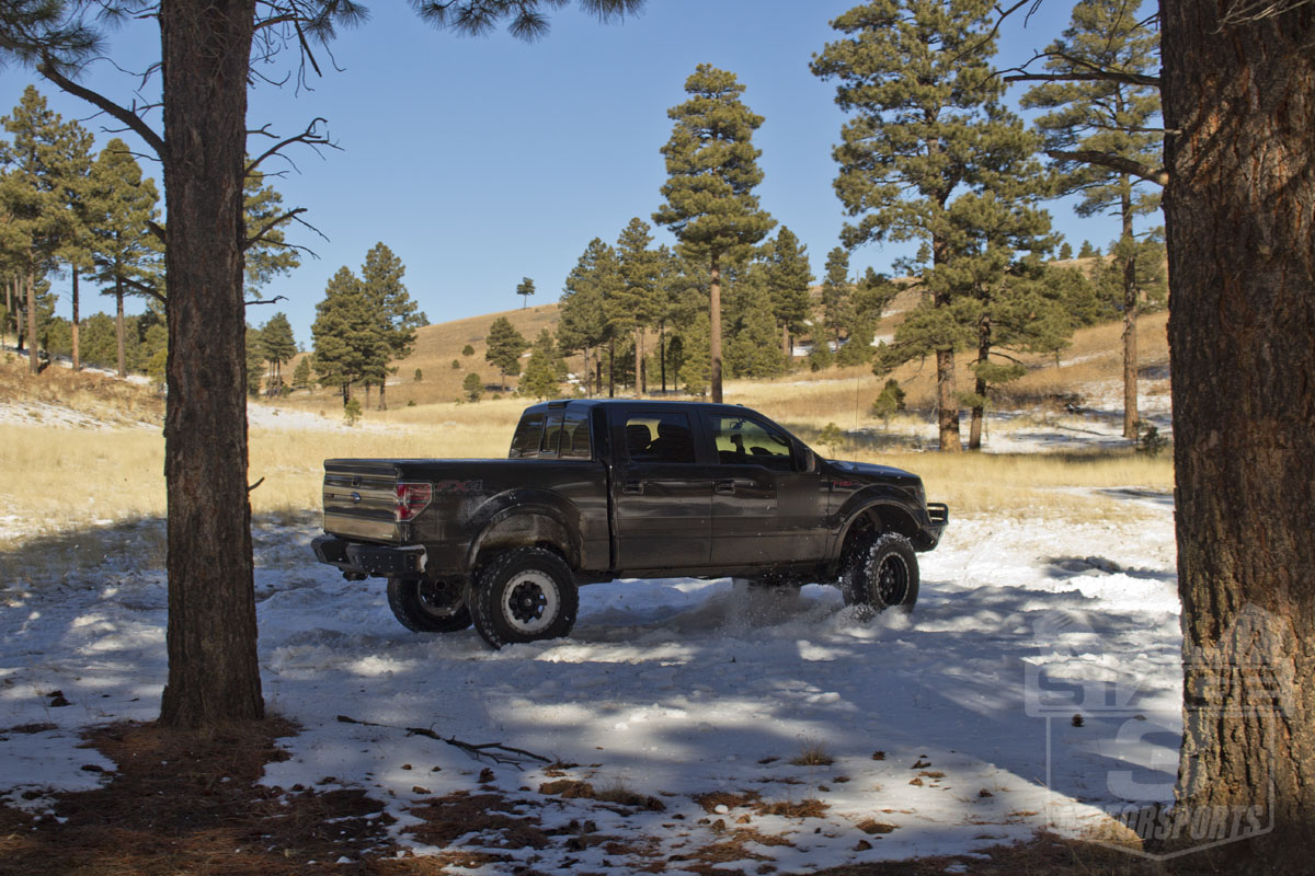 Stage 3's 2012 F150 Project Truck with 8-inch Lift Kit and 37-Inch Tires