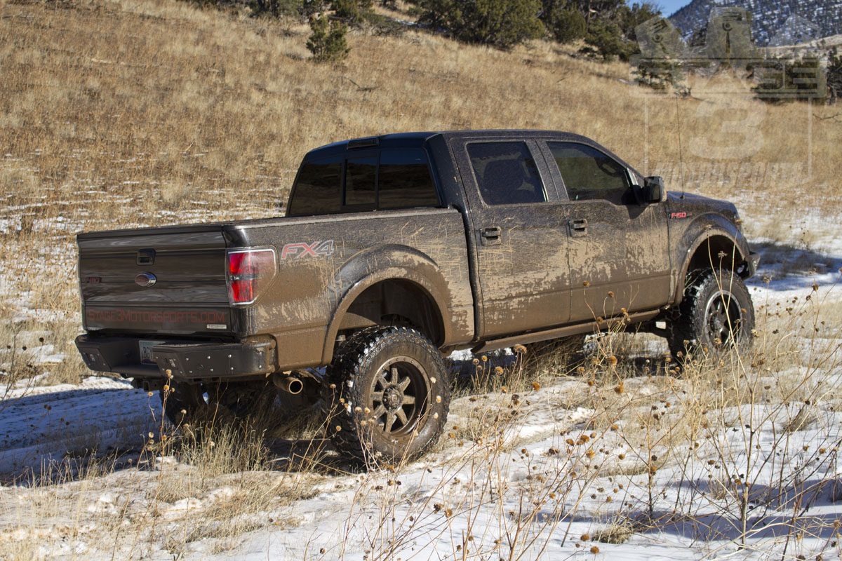 stage 3 s 2012 f150 project truck with 8 inch lift kit and 37 inch