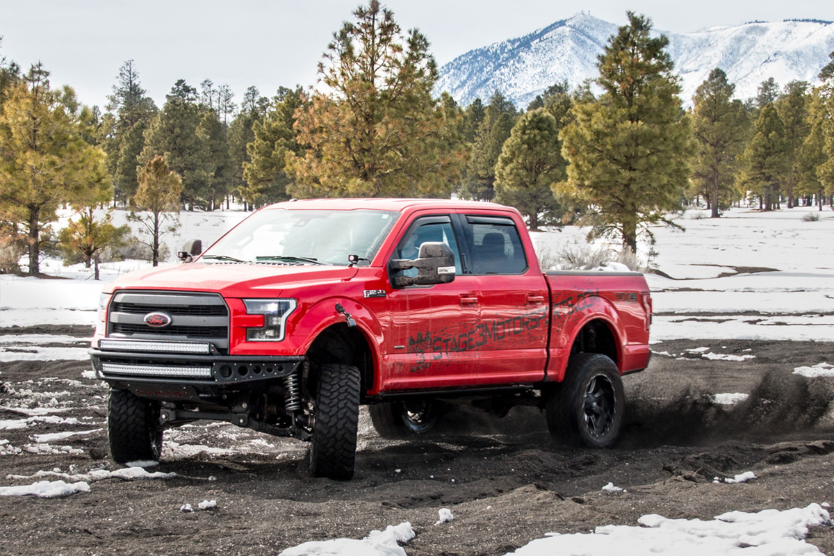 Stage 3 s 2015 f150 ecoboost fx4 project truck build